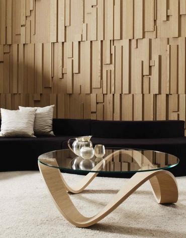 Декоративные 3D панели из дерева