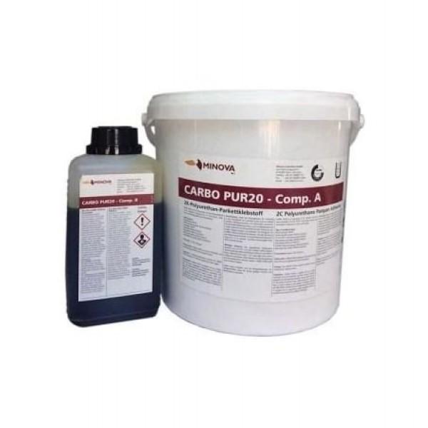 Двухкомпонентный полиуретановый клей для паркета Minova Carbo Pur20 (Ecopur PU-2K)