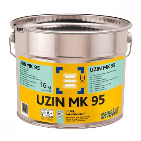 Однокомпонентный полиуретановый клей для паркета Uzin MK 95