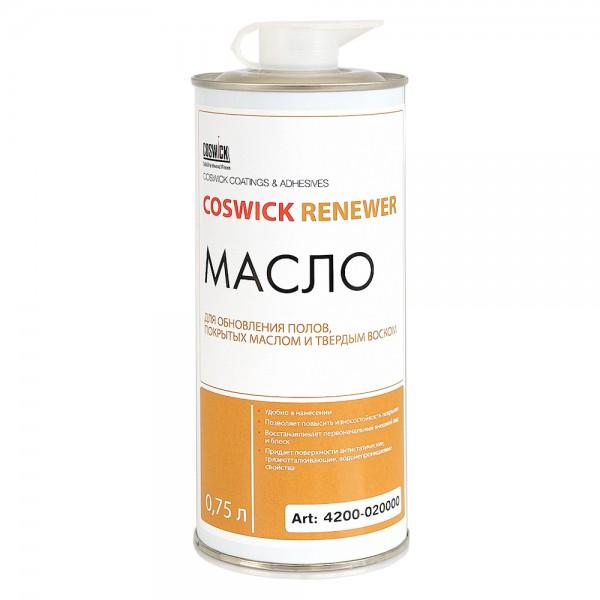 Масло Coswick для восстановления паркетных полов, покрытых УФ-маслом или воском (Renewer)