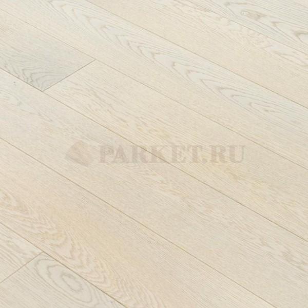 Инженерная доска Романовский Белый Дуб Селект (Гладкая) 400-1800х150 мм.