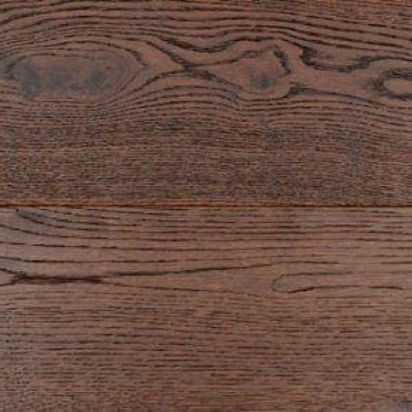 Массивная доска Elyseum Ливорнo Дуб Рустик с брашью (Текстурированная) 1820х165 мм.