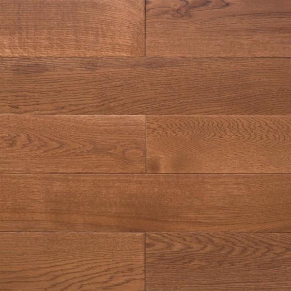 Массивная доска  Amber wood Дуб AMBER Лак