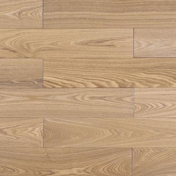 Массивная доска  Amber wood Ясень Карамель Лак