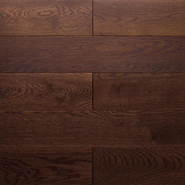 Массивная доска  Amber wood Дуб BRANDY Браш Масло