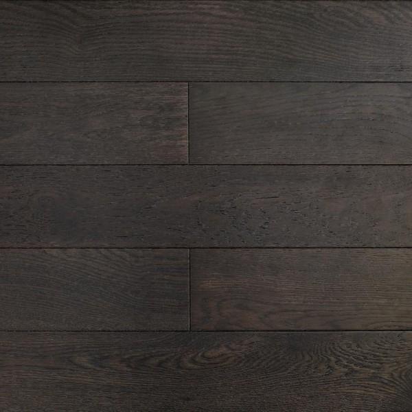 Массивная доска  Amber wood Дуб LICORICE Браш Лак