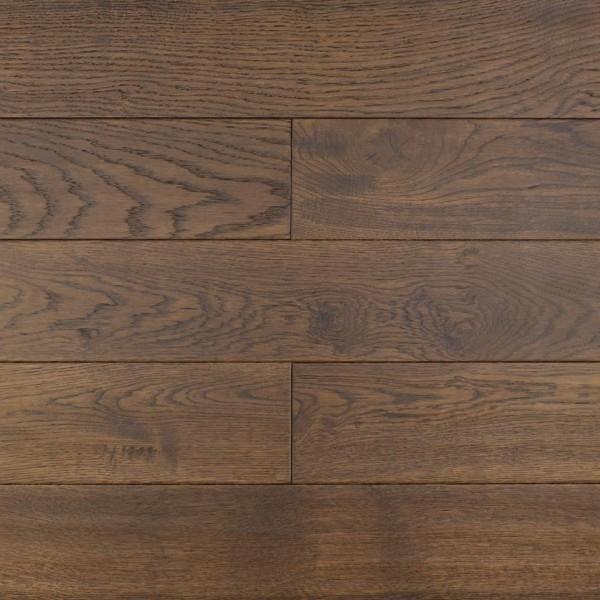 Массивная доска  Amber wood Дуб EBONY Лак Состаренный