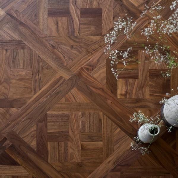 Модульный паркет  Coswick Коллекция Provence (Прованс) Натуральный орех