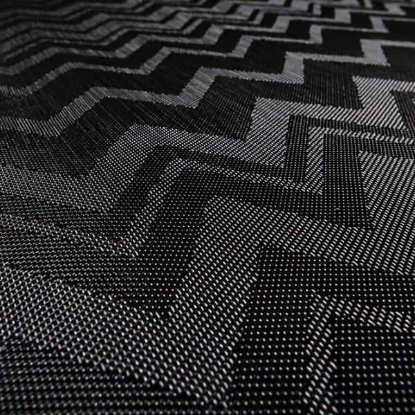 Виниловый ламинат Bolon By Missoni Zigzag Black