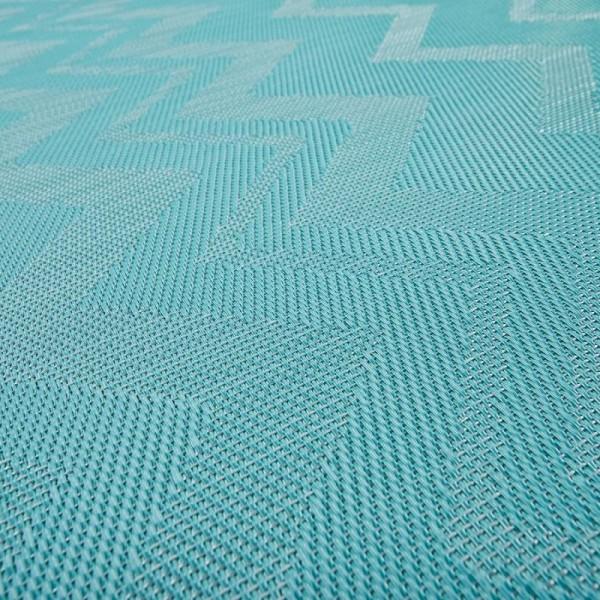 Виниловый ламинат Bolon By Missoni Zigzag Turquoise