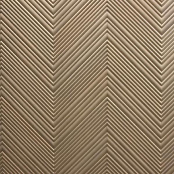 Стеновые 3D панели из дерева Esse 1033 П Фрезерованный дуб в эмали
