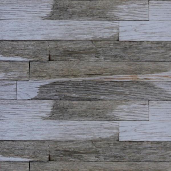 Стеновые 3D панели из дерева Esse 1018-S Колотый дуб серый