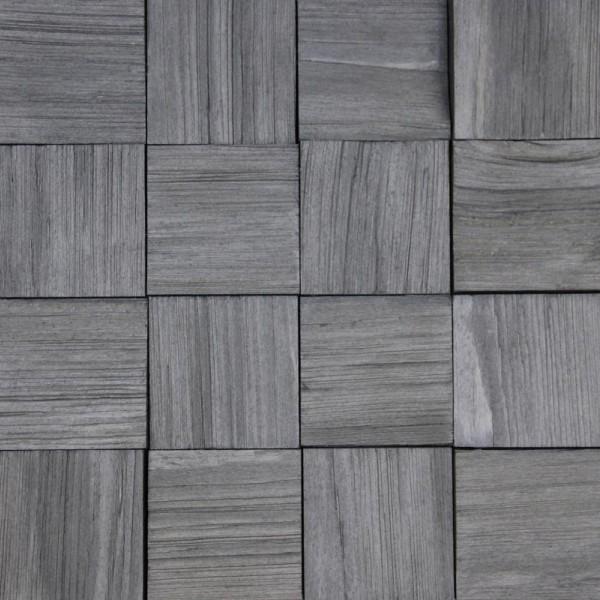 Стеновые 3D панели из дерева Esse 1019-S Колотая серая сосна