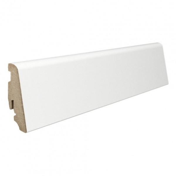 Плинтус напольный Haro Minimal White