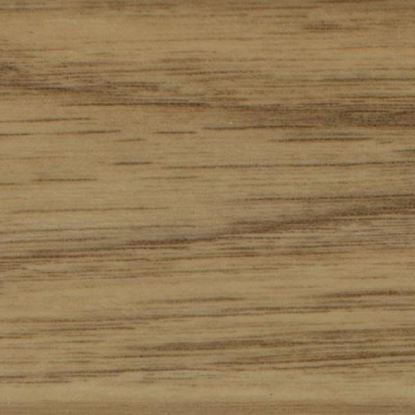 Бежевый плинтус ПВХ Arbiton Indo 05 Дуб Виндстоун (Windston Oak) +монтажная планка