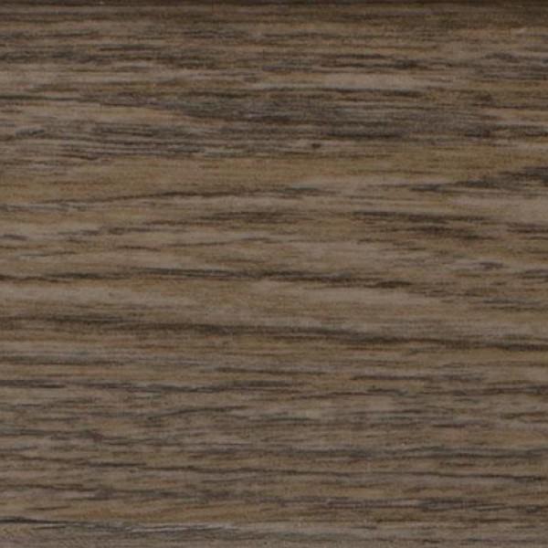 Пластиковый плинтус (ПВХ) Arbiton Indo 11 Дуб Скальный / Горный (Holm Oak) +монтажная планка