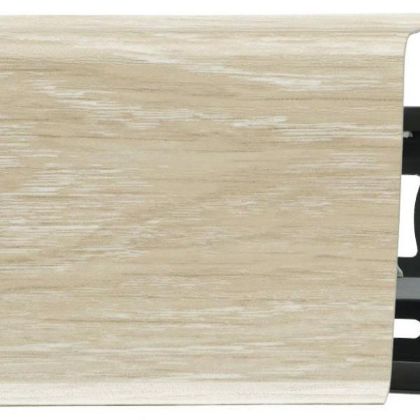 Пластиковый плинтус (ПВХ) Arbiton Indo 42 Дуб Песочный (Sand Oak)