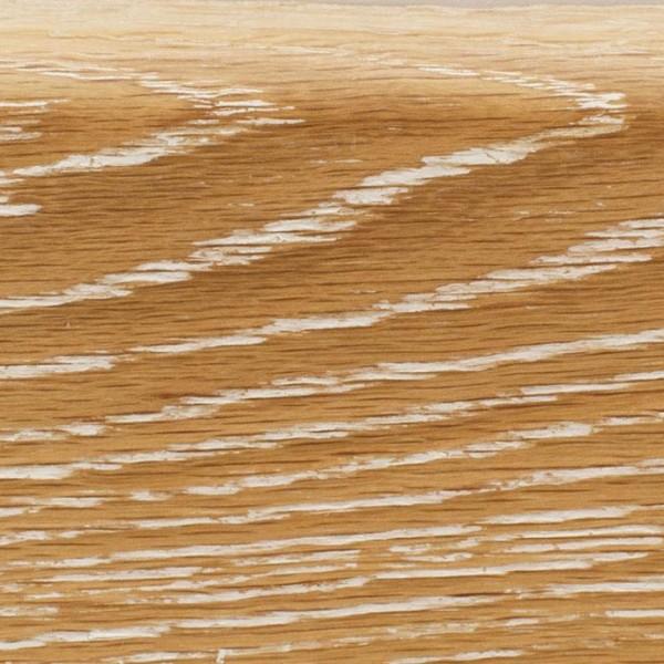 Деревянный плинтус массивный MGK Floor Дуб Беленый (брашированный)