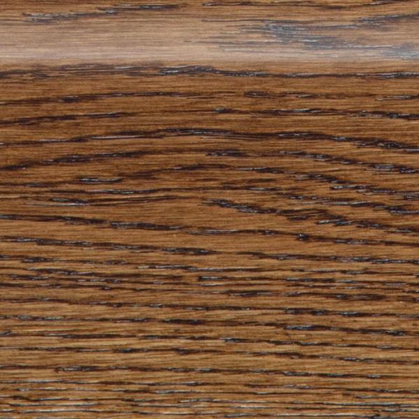 Деревянный плинтус массивный MGK Floor Дуб Коньяк (брашированный)
