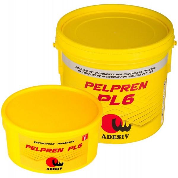Двухкомпонентный клей для паркета ADESIV PELPREN PL6 полиуретановый